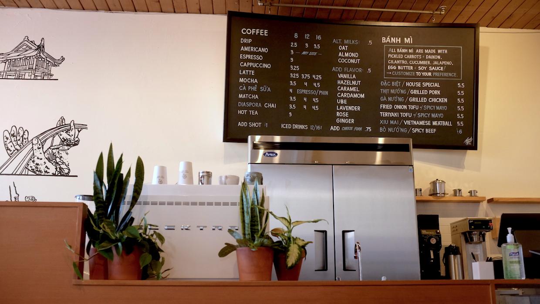 Portland Cà Phê menu
