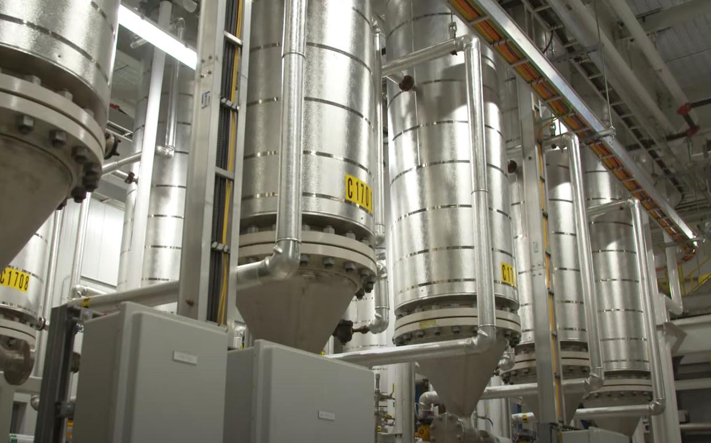 coffee silos