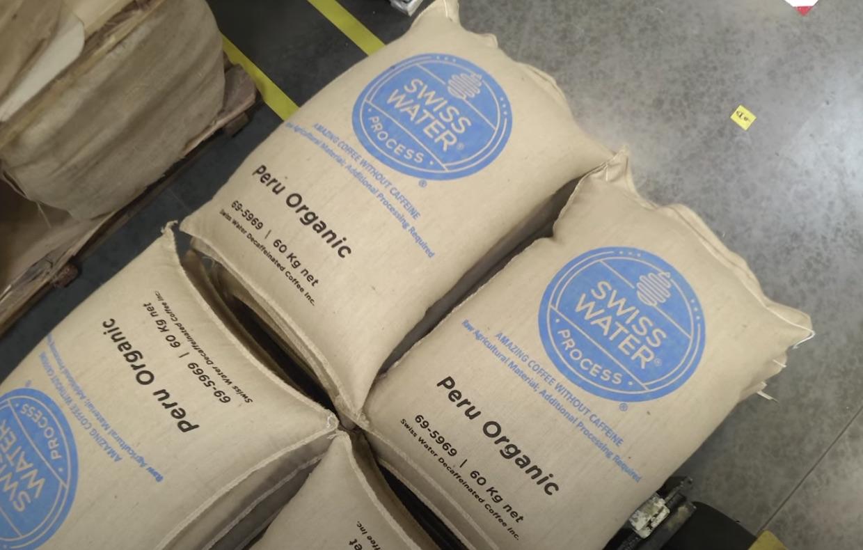 Swiss Water coffee Peru