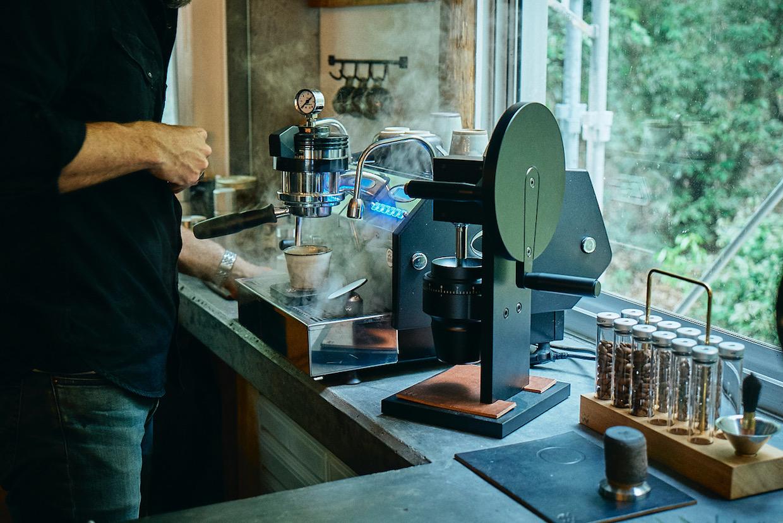 Weber HG-2 grinder espresso