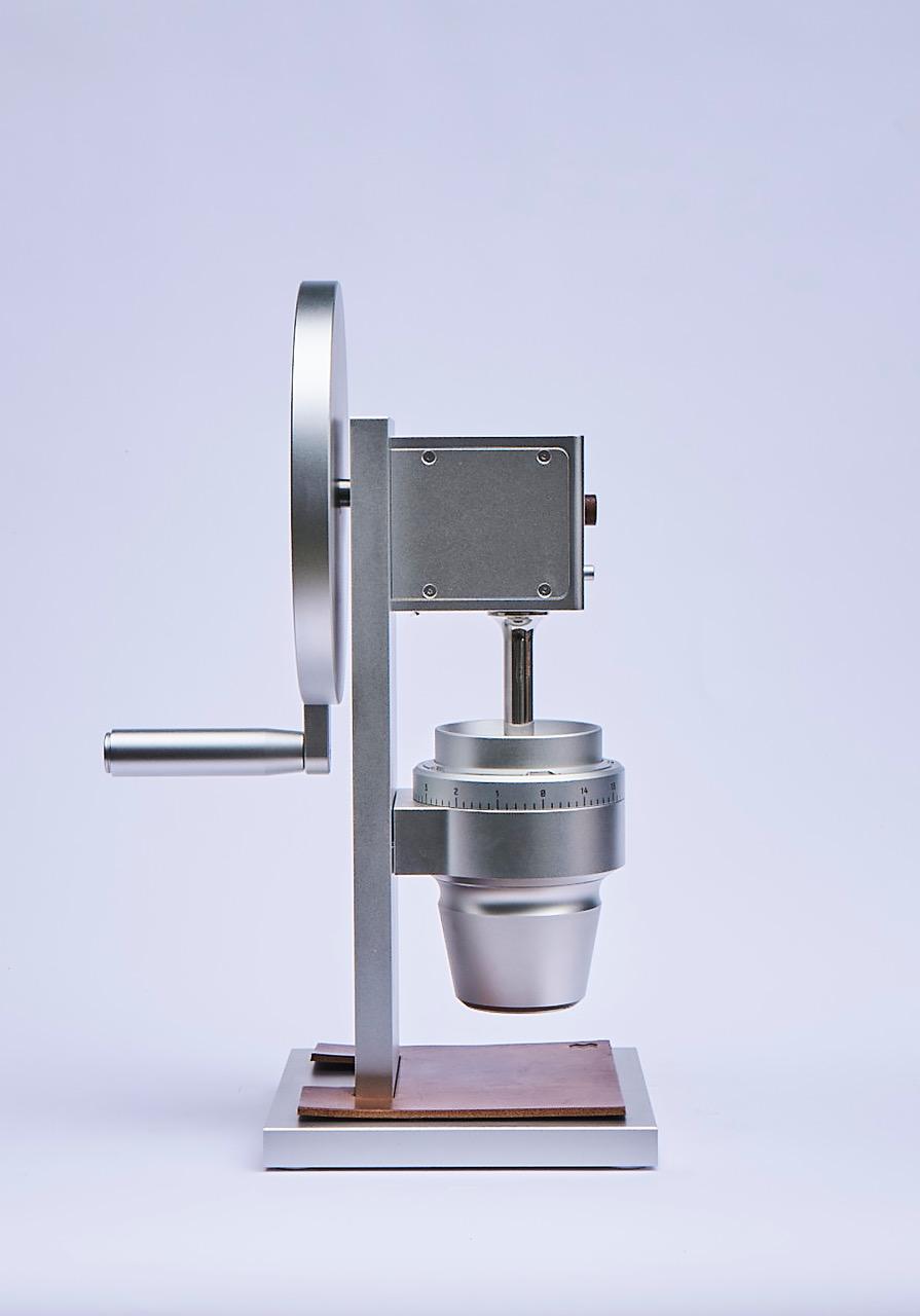 Weber HG-2 grinder silver