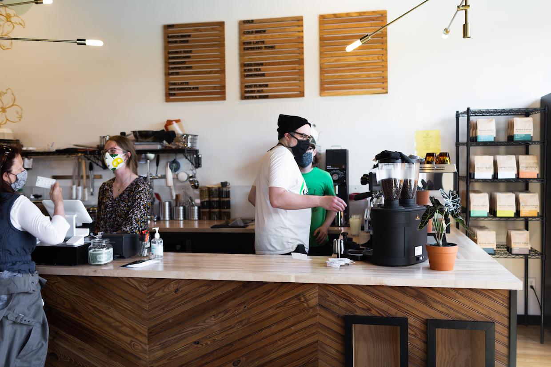 Broad Porch Coffee Virginia bar