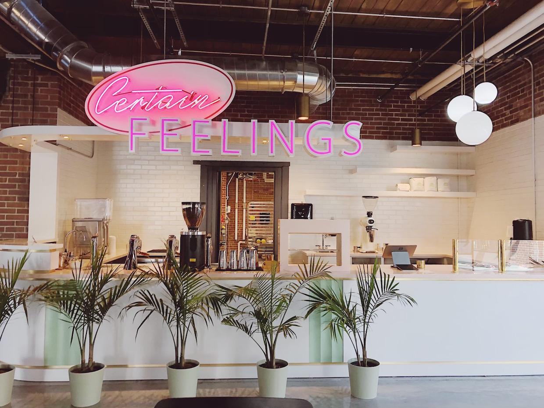 Certain Feelings cafe