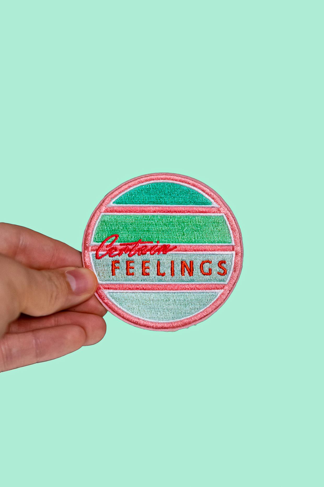 Certain Feelings coffee logo