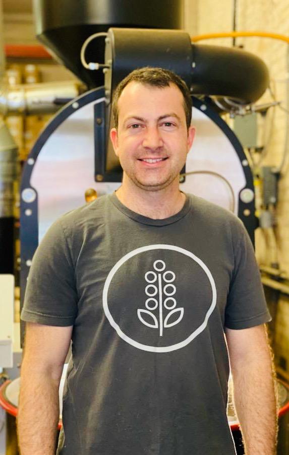 Chris Molieri at Roastery