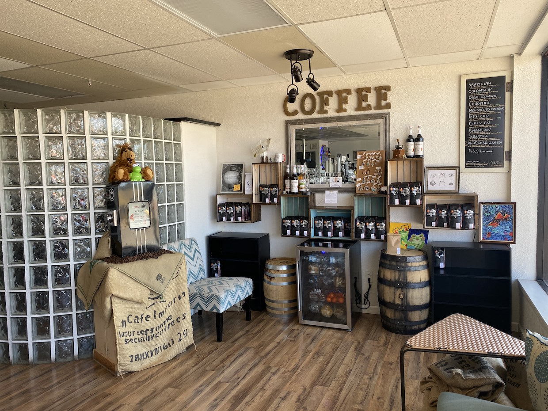 corter coffee retail display
