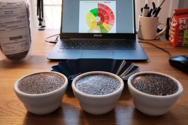 咖啡杯測應用