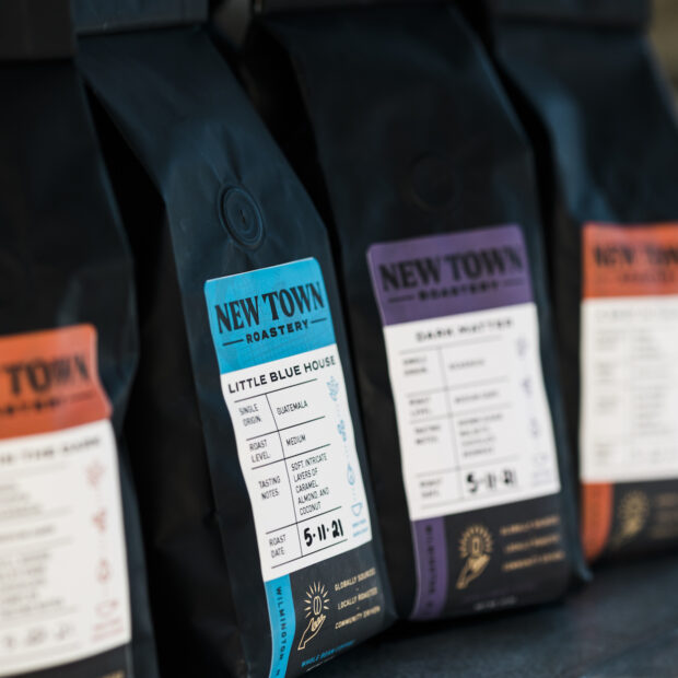 New Town coffee