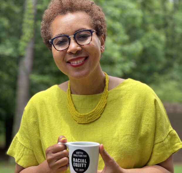 Phyllis Johnson coffee coalition for racial equity