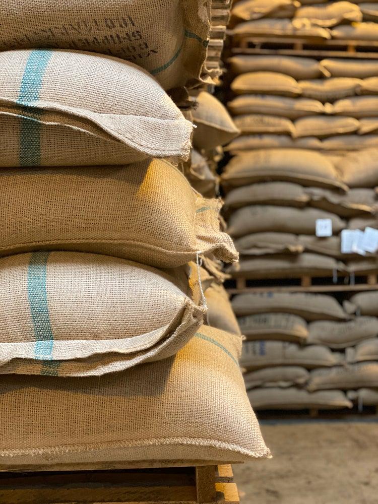 coffee warehouse storage