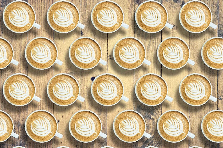 coffees lattes