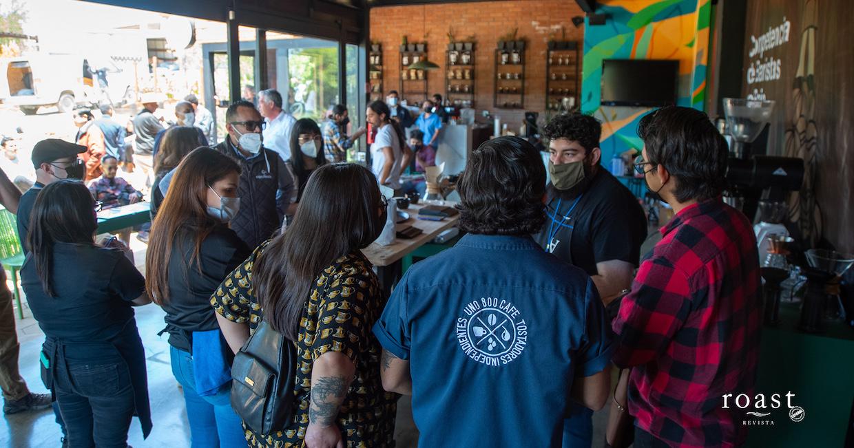 competencia de baristas en Baja 2