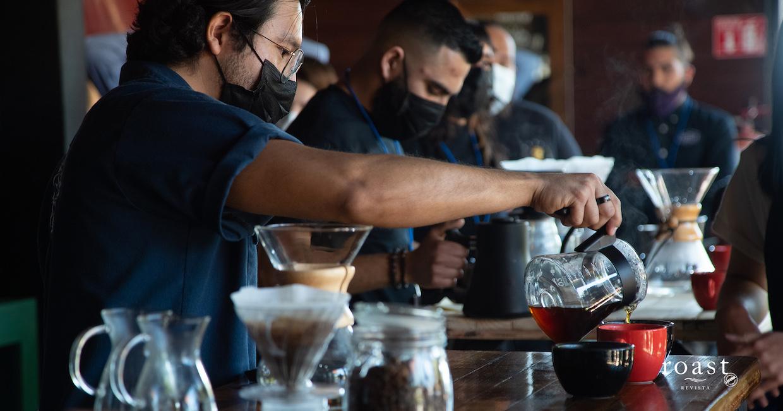 competencia de baristas en Baja 3