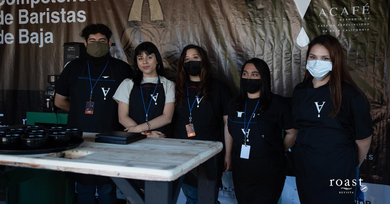 competencia de baristas en Baja 5