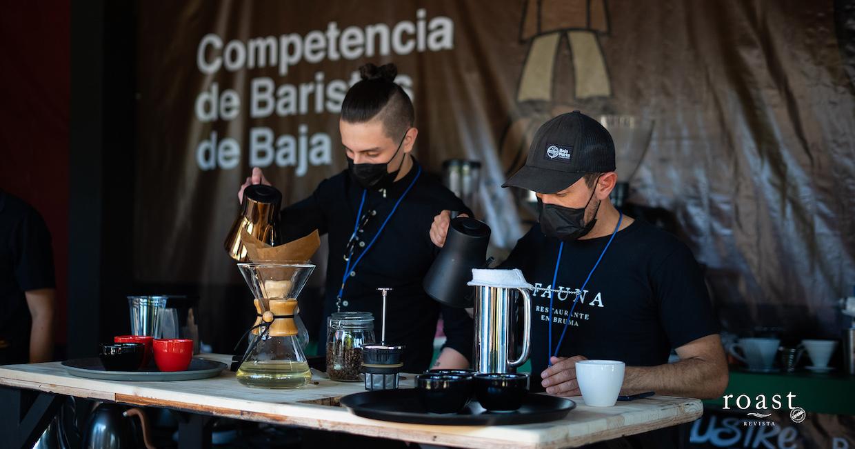 competencia de baristas en Baja 6