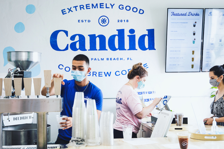 Candid Coffee Cold Brew Palm Beach 1