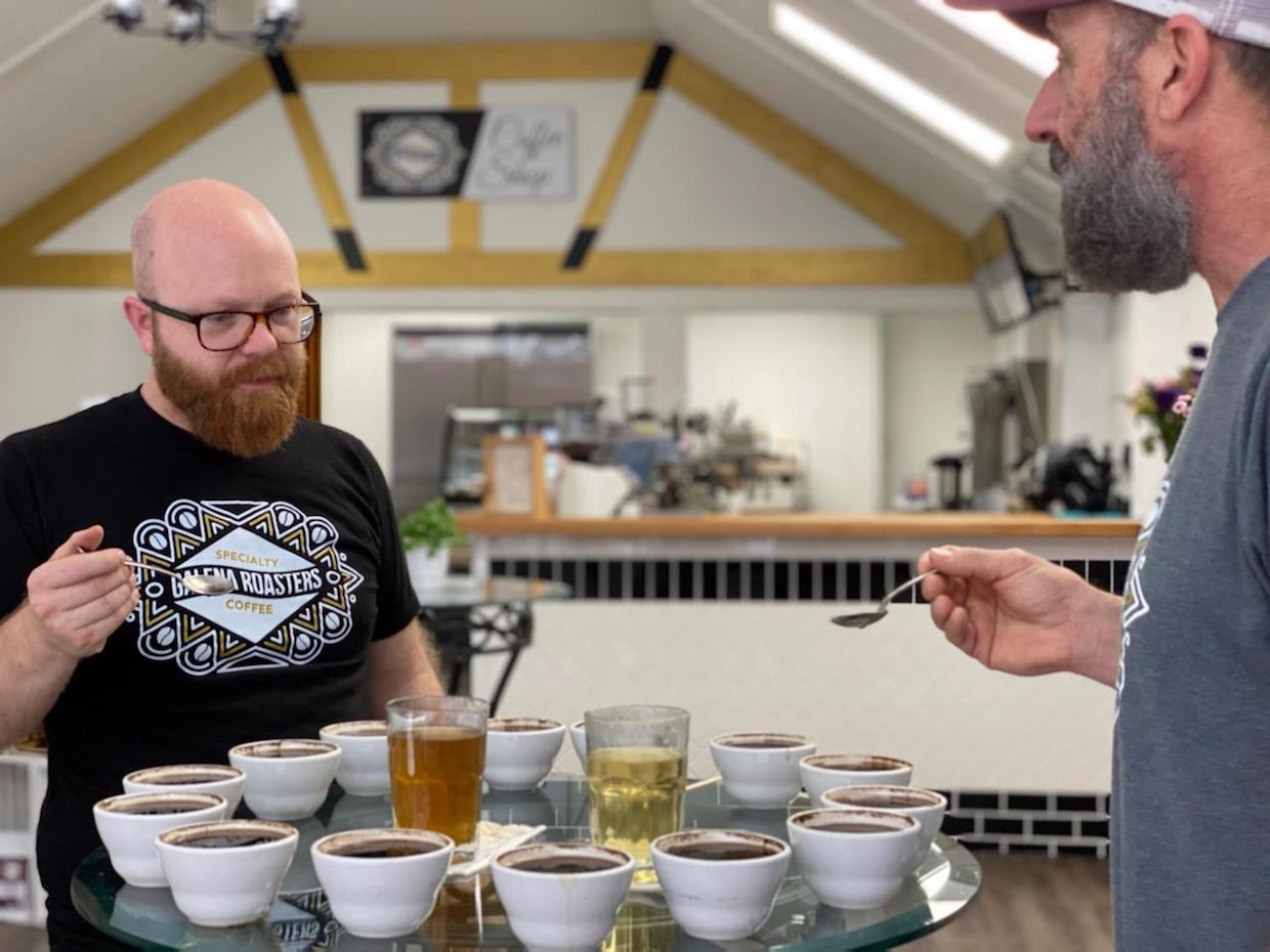 Galena Roasters owners