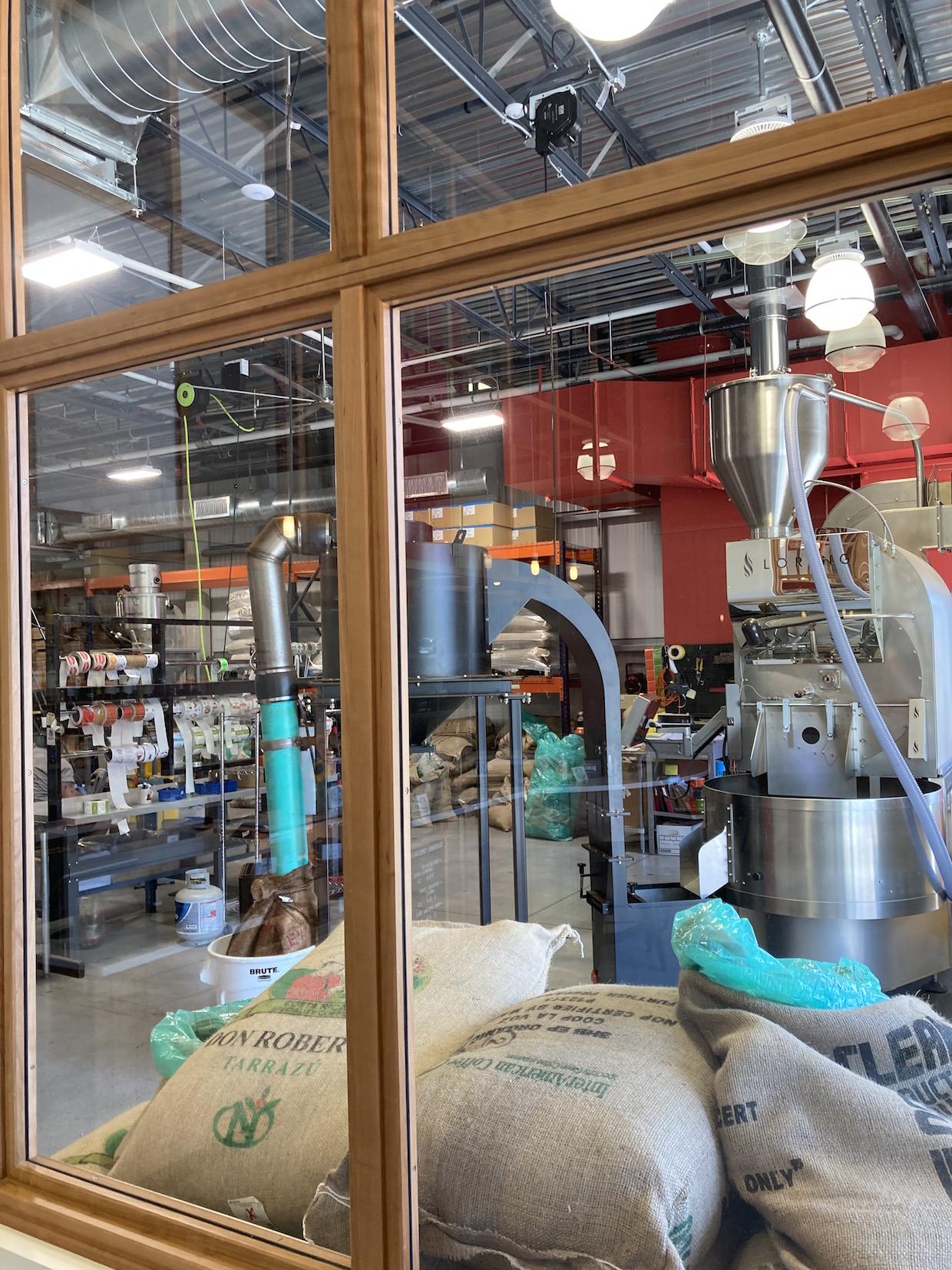 New Harvest Coffee Raosters roastery