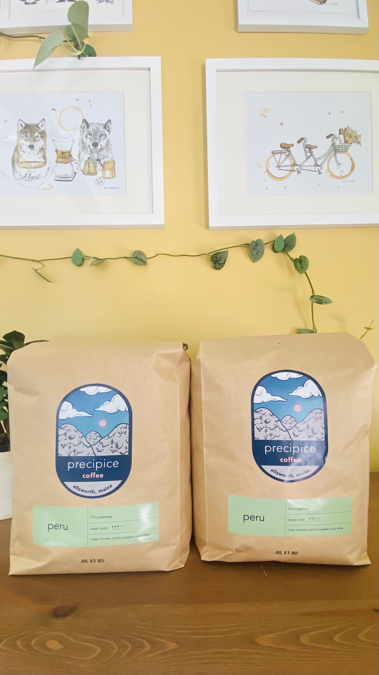Precipice Coffee bag