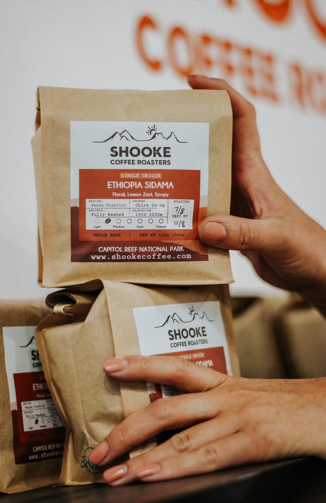 Shooke Coffee bags