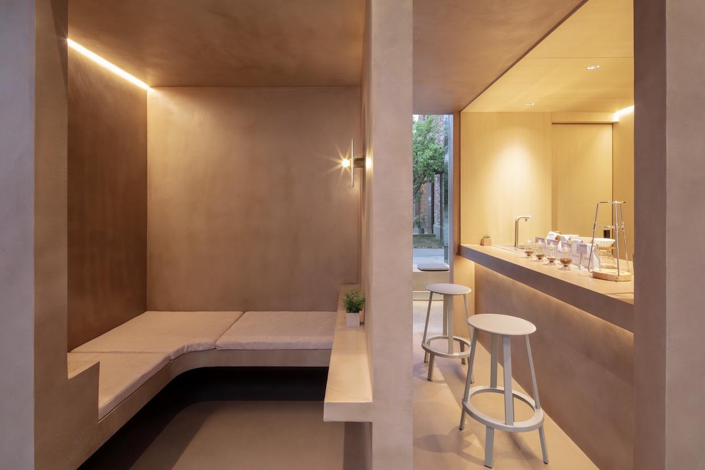 1402 interior de café