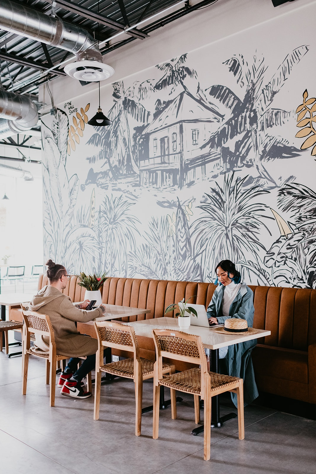 coffee shop seating