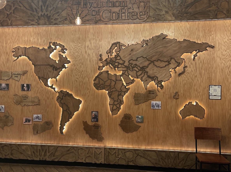 Haraz Coffee Dearborn map