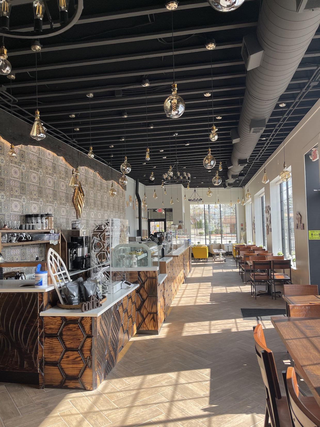 Haraz Coffee Dearborn shop