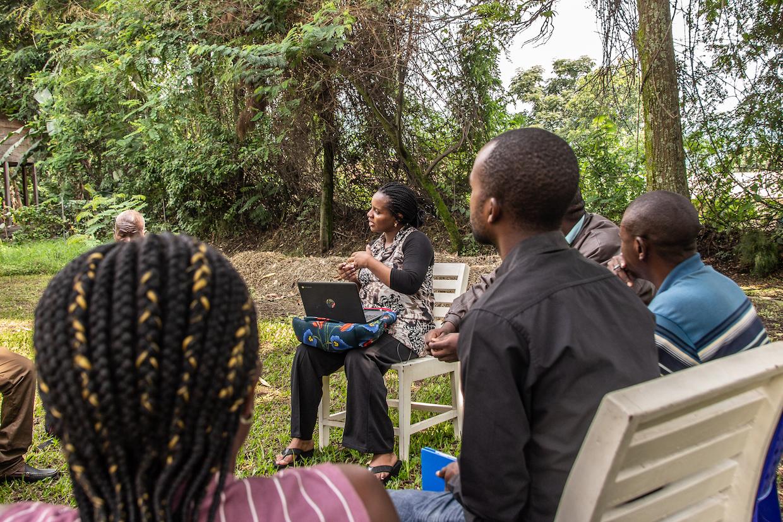 Linda Mugaruka congo coffee training