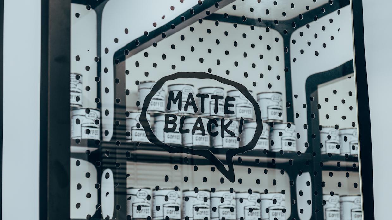 Matte Black Coffee LA 4