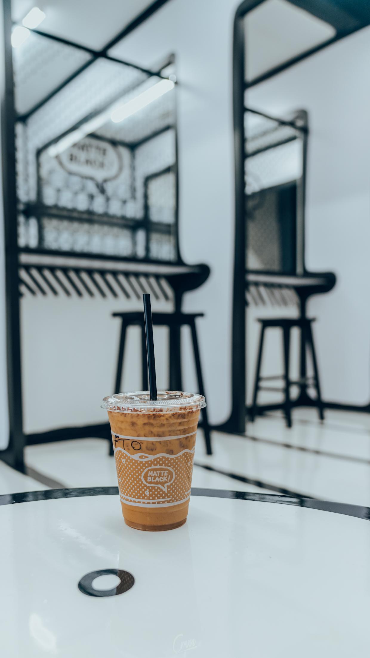Matte Black Coffee LA 9