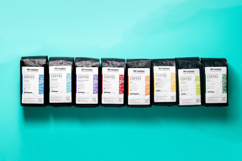 Monster Coffee Roasters coffees