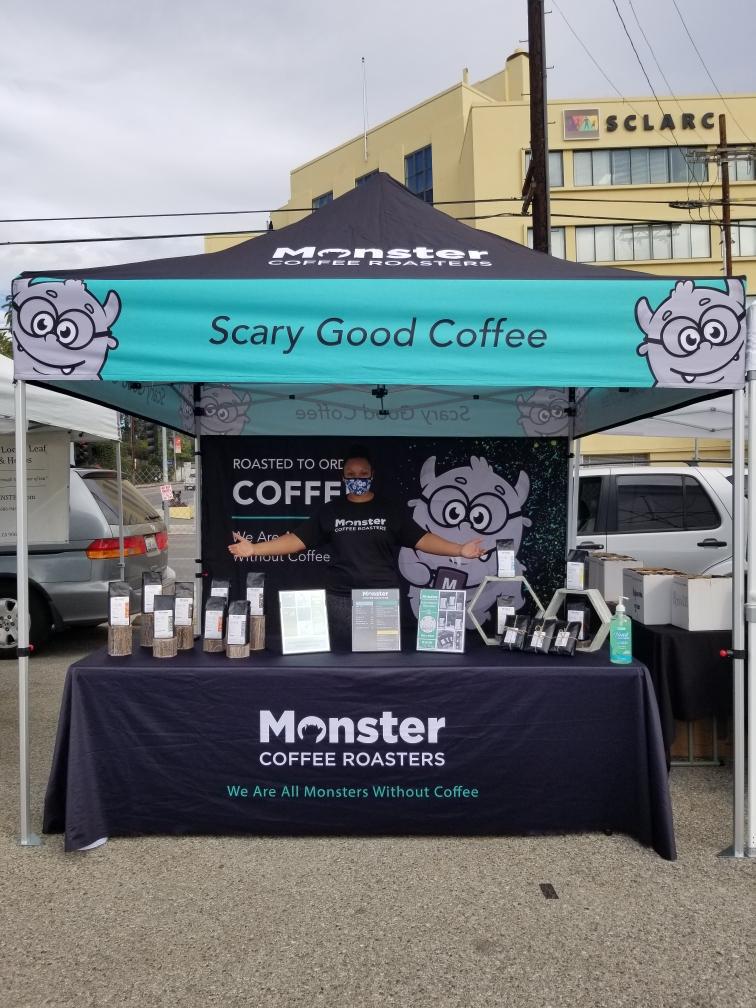 Monster Coffee Roasters market