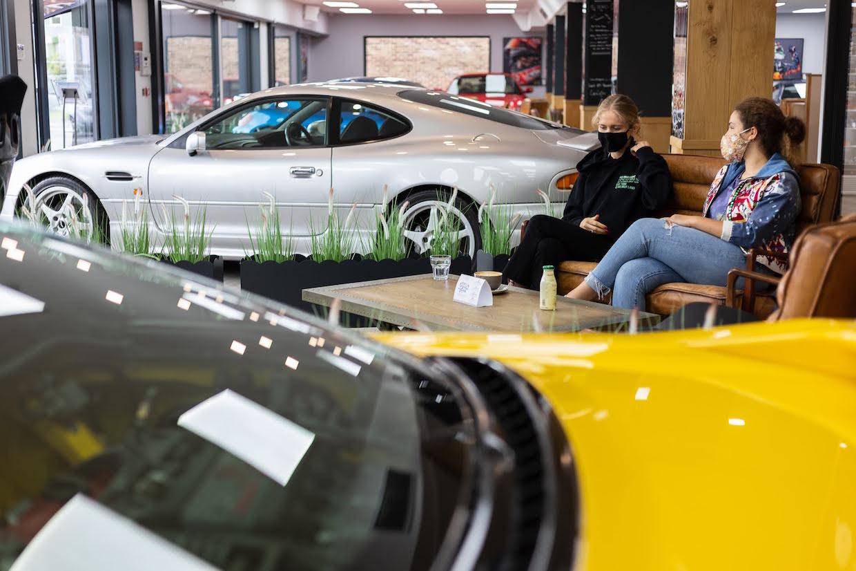 Automóviles de Per'La Specialty Roasters UK