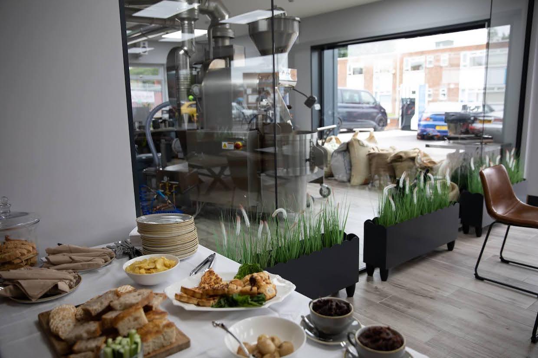 Planta de tostado Per'La Specialty Roasters UK