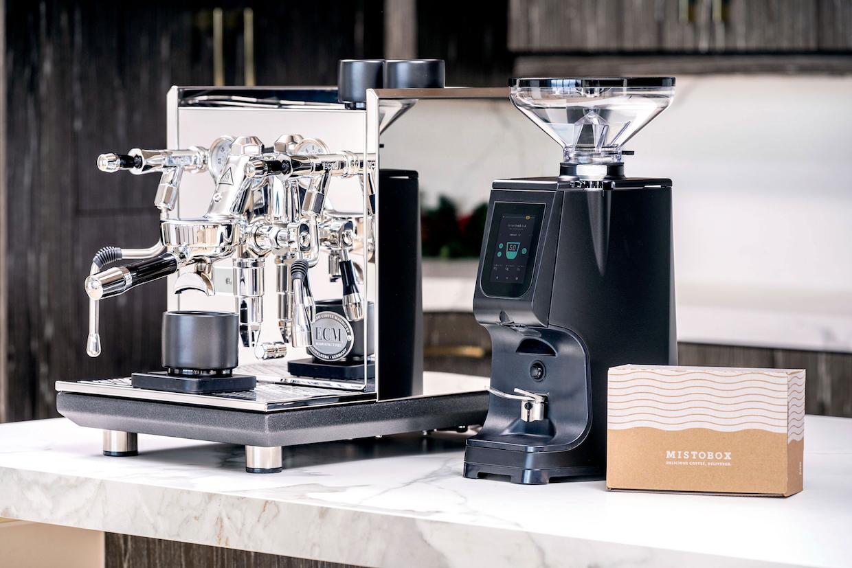 Lucca Atom 75 coffee