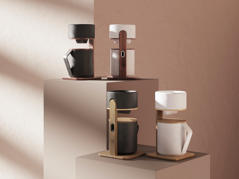 3. Colección Quindio Pour Over Coffee Maker de Wolf & Miu