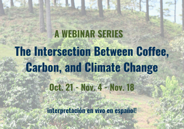 Coffee, Carbon and Climate Change at Center of New Webinar Series