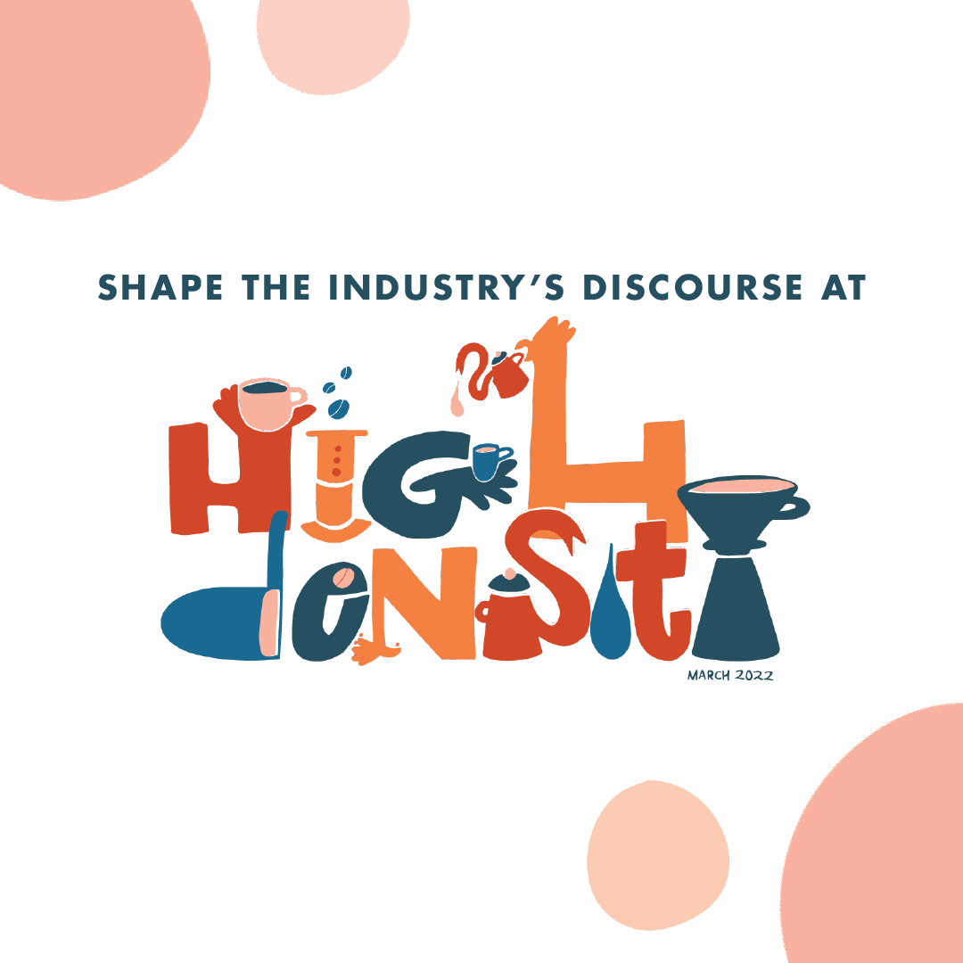 Conferencia de café de alta densidad