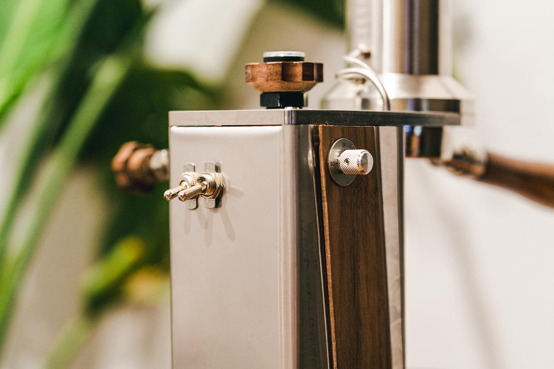 Interruptor de la máquina de espresso