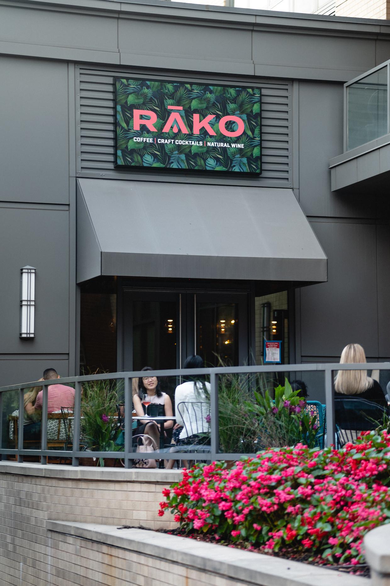 Terraza Rako Coffee Arlington